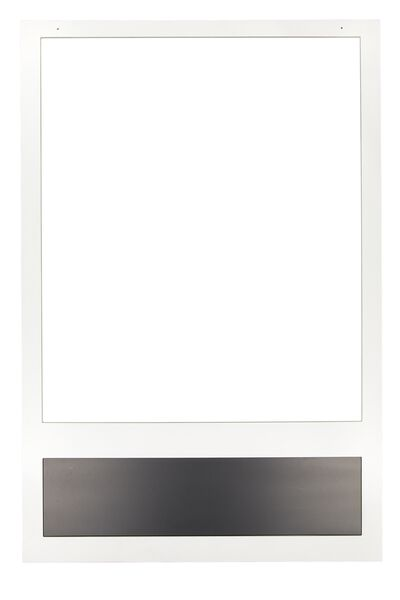 Large Photo Frame Prop, WHITE