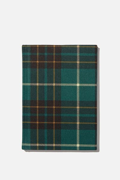 2021 A5 Oxford Weekly Diary, FLANNO GREEN CHECK