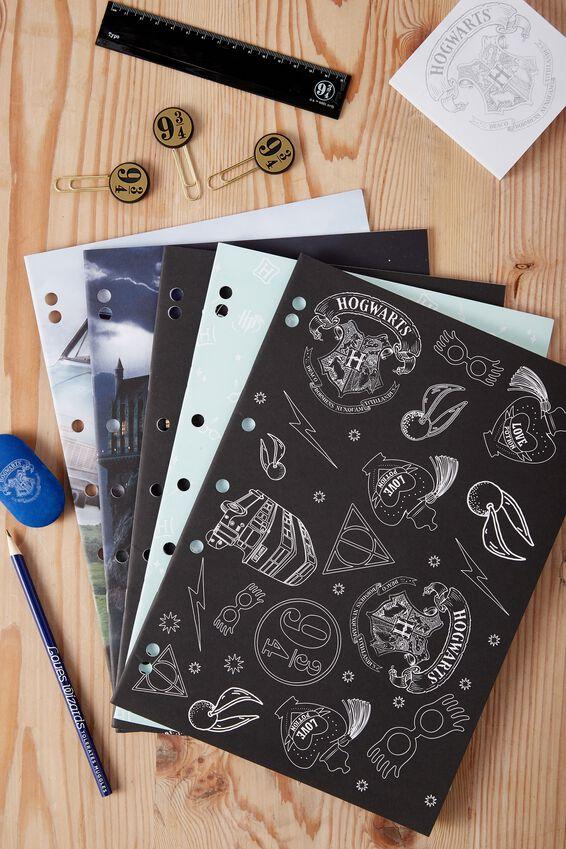 Work It Out Notebook pk 5, LCN HARRY POTTER