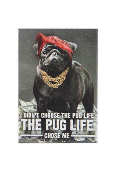 Quirky Magnet, DG PUG LIFE