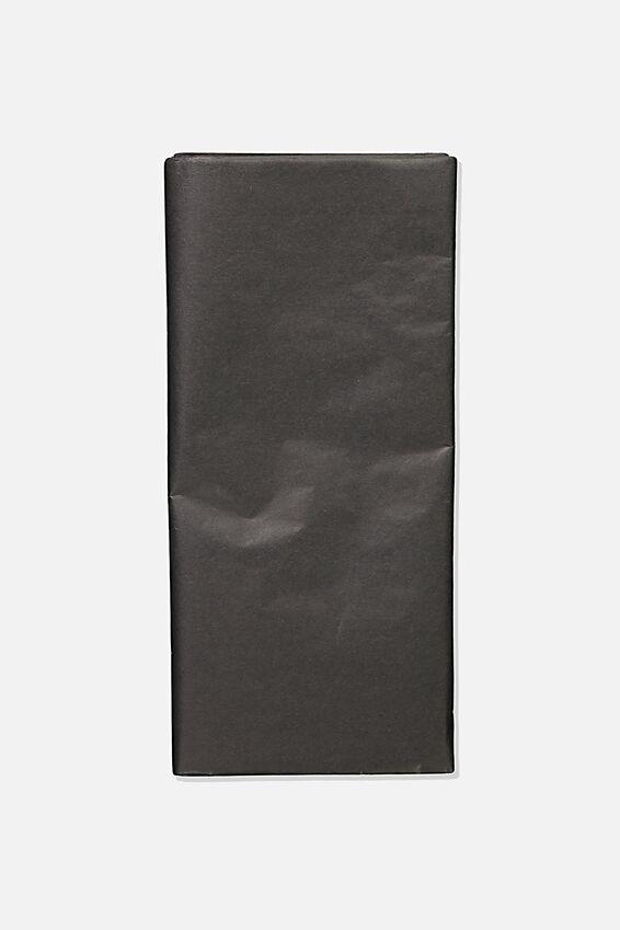 Tissue Paper, BLACK