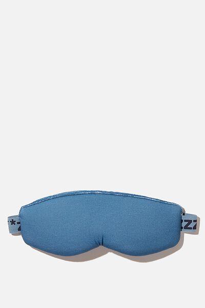 Total Block Out Eyemask, PETROL BLUE ZZZ