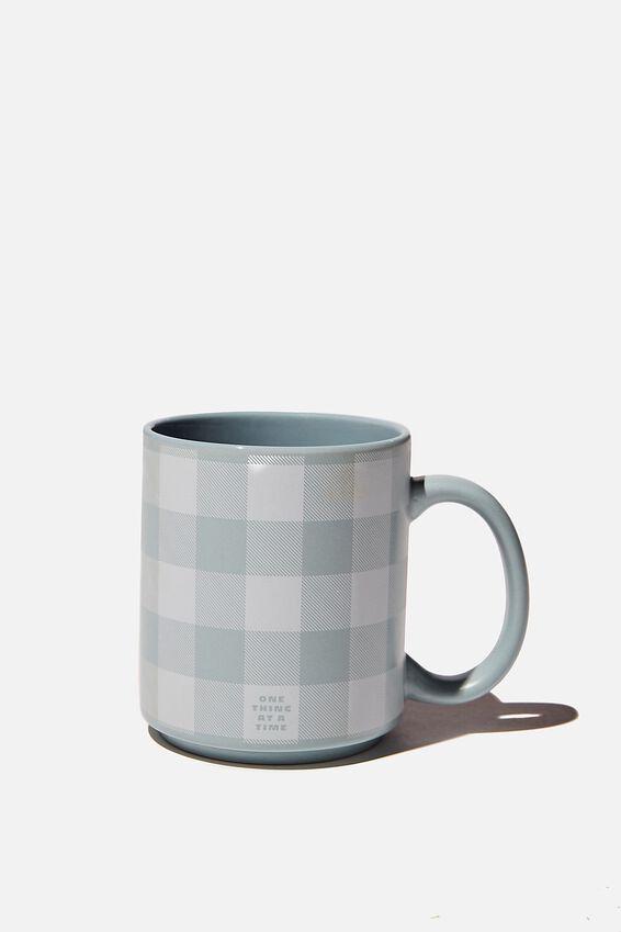 Daily Mug, HYACINTH GINGHAM