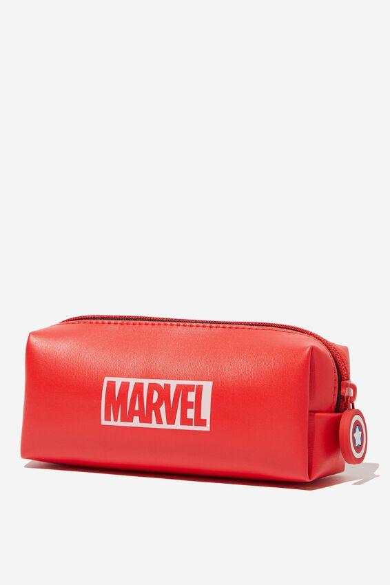 Marvel Bailey Pencil Case, LCN MAR LOGO