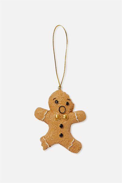 Christmas Ornament, GINGERBREAD BITE