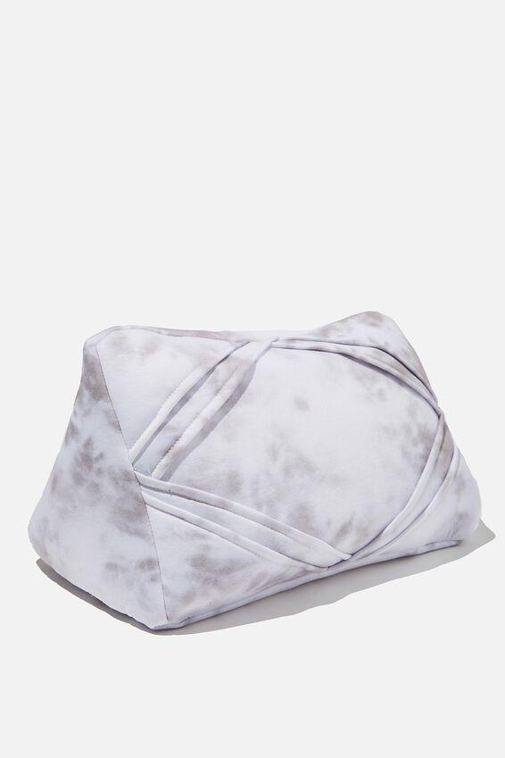 Tablet Cushion, SPACEY TIE DYE COOL GREY