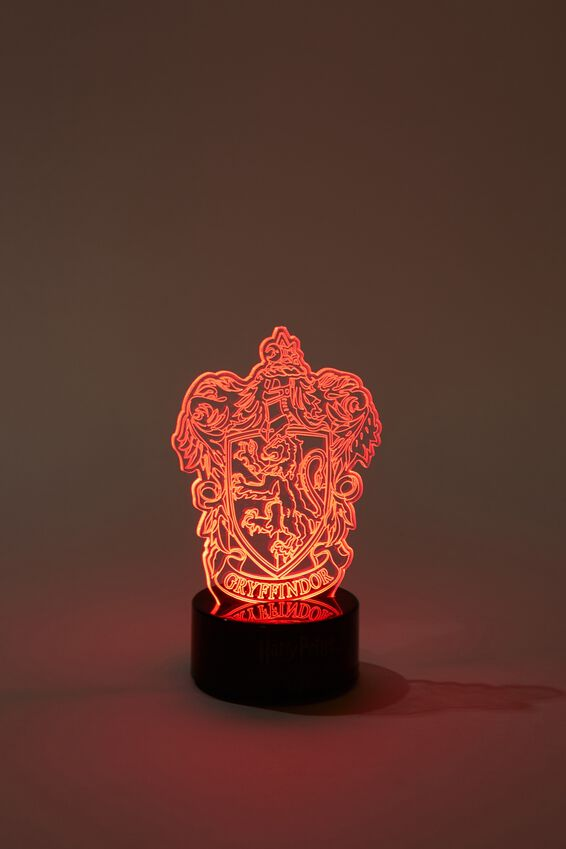 Harry Potter Mini Acrylic Light, LCN WB HP GRYFFINDOR