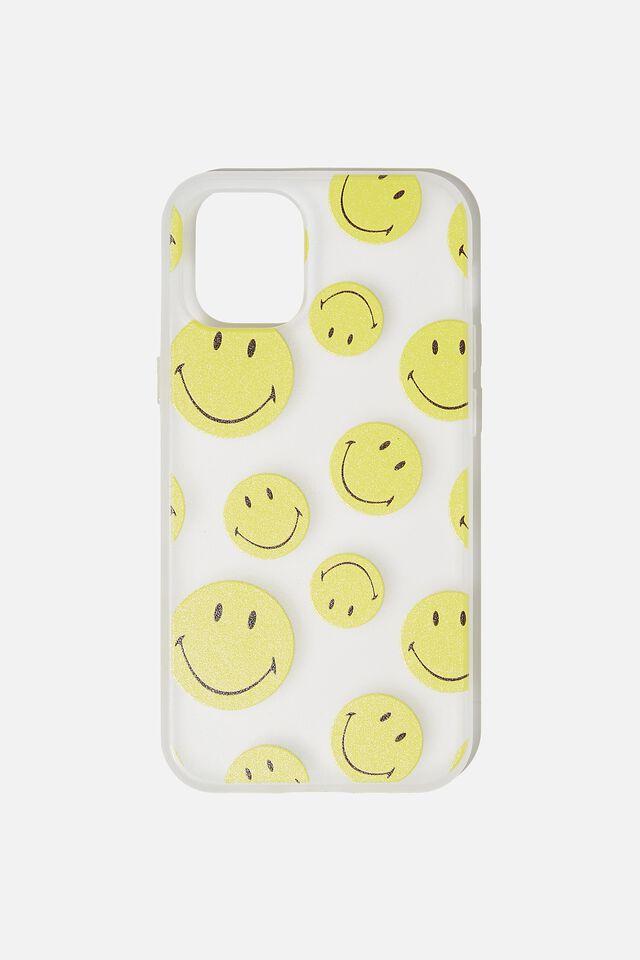 Protective Phone Case Iphone 12 Mini, LCN SMI SMILEY YDG