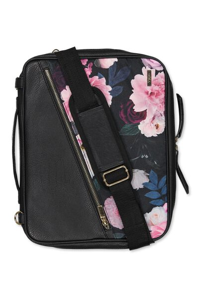 Premium Laptop Desk, BLACK & FLORAL