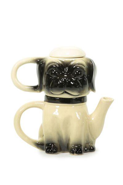 Novelty Tea For One, PUG