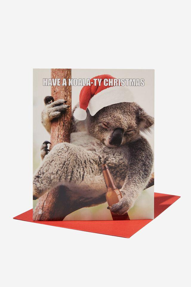 Christmas Card 2021, KOALTY CHRISTMAS!