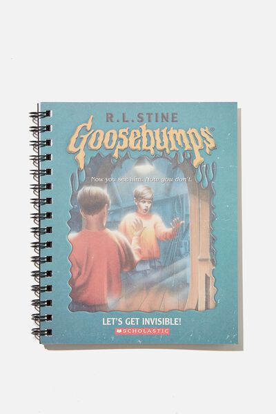 A5 Campus Notebook Recycled, LCN SON GOOSEBUMPS TEAL REFLECTION