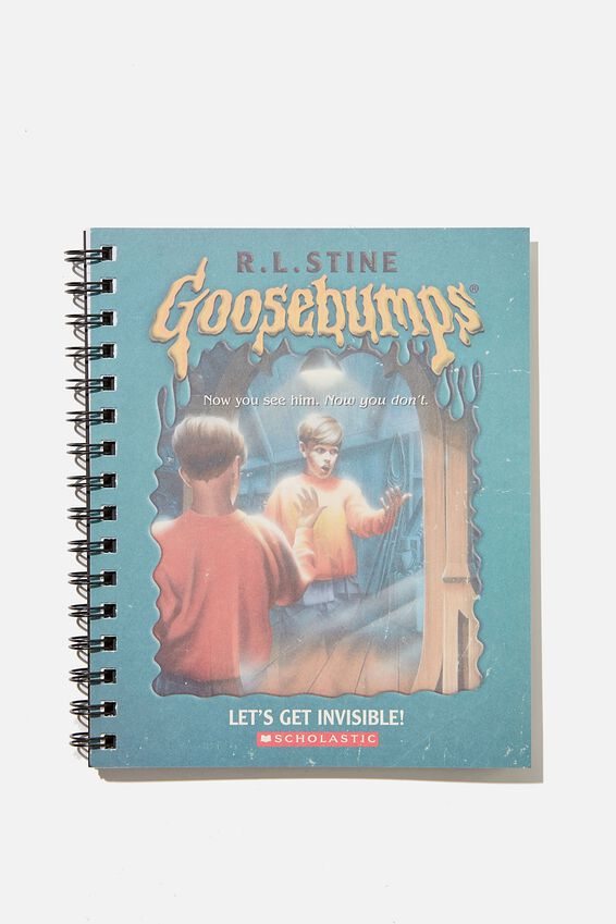 A5 Goosebumps Campus Notebook Recycled, LCN SON GOOSEBUMPS TEAL REFLECTION
