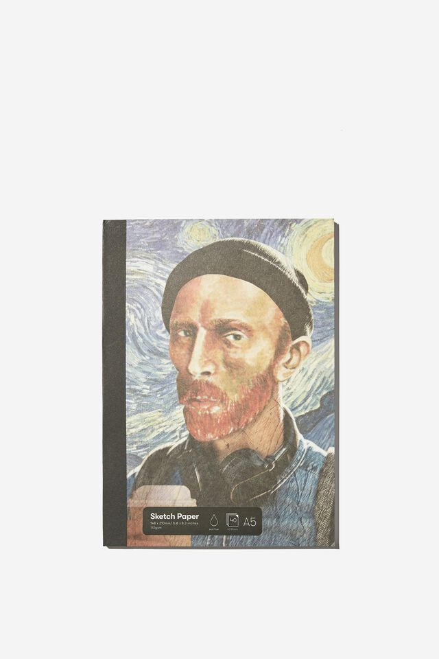 A5 Sketch Mate Book, MILLENIAL VAN