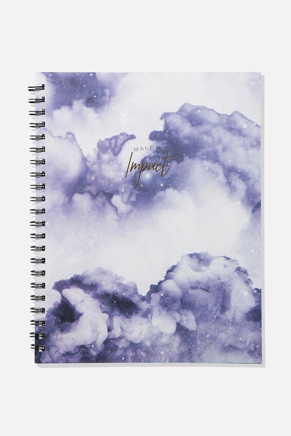 A4 Campus Notebook, IMPACT SMOKE BOMB