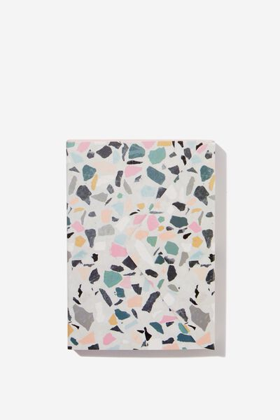 Pocket Sticky Note Set, TERRAZZO BRIGHTS