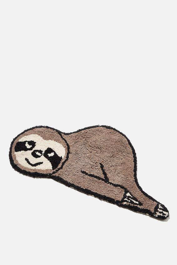 Floor Mat, SLEEPING SLOTH
