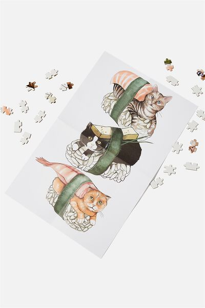 1000 Piece Puzzle, SUSHI CATS