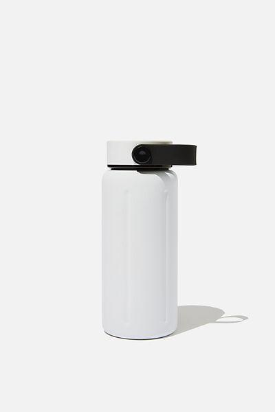The Traveller Drink Bottle, WHITE