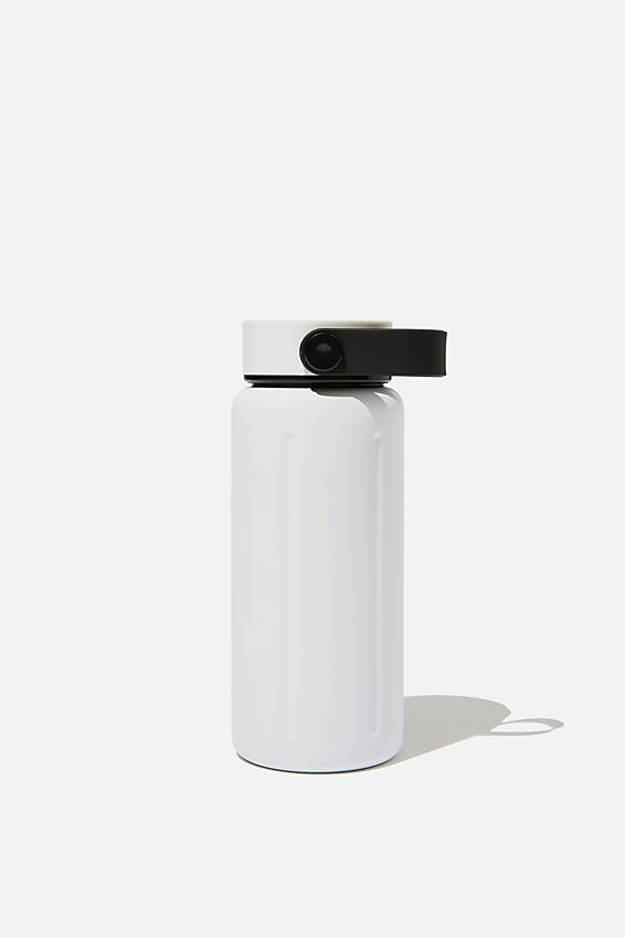 The Traveller Drink Bottle, WHITE