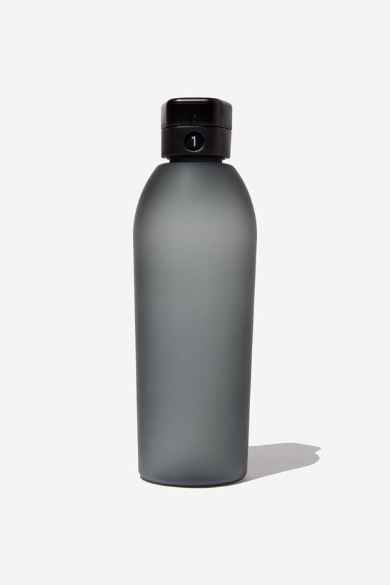 The Counter Drink Bottle, BLACK RUBBER COAT