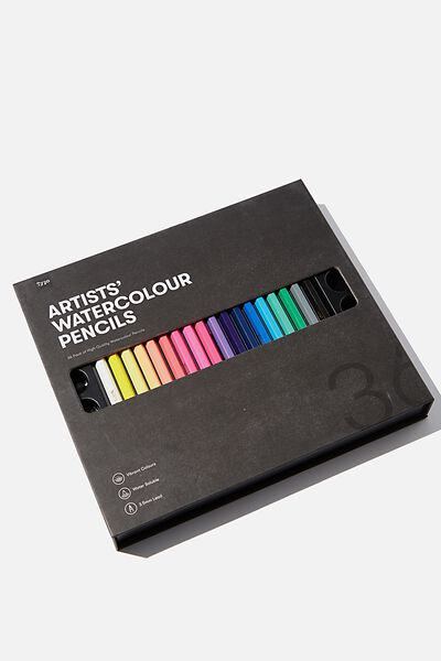Watercolour Pencils 36Pk, MIXED PACK