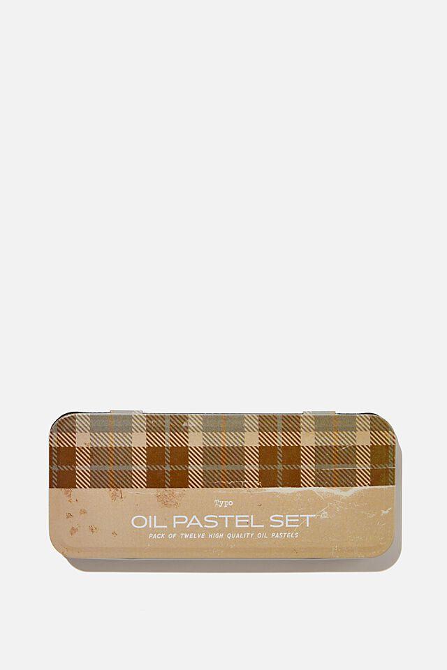 Oil Pastel Set, NEUTRALS