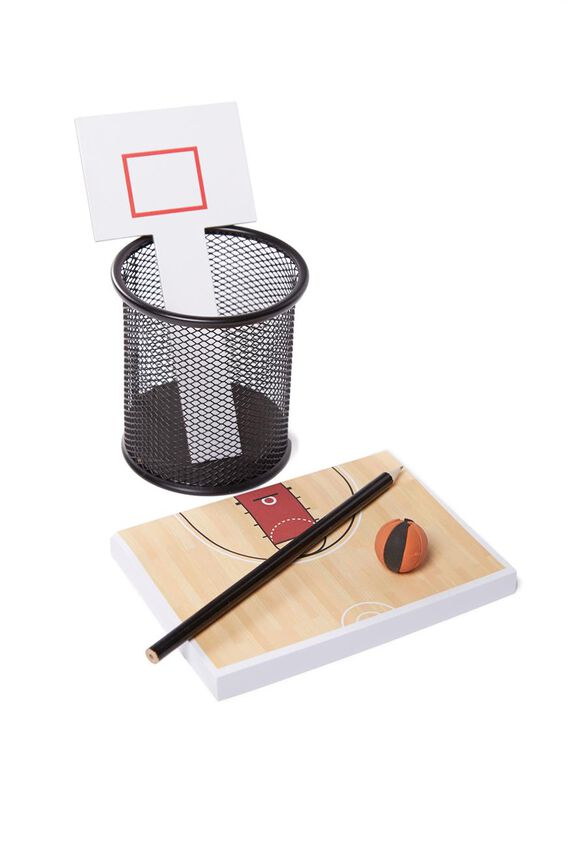 Office Desk Game Set, BASKETBALL