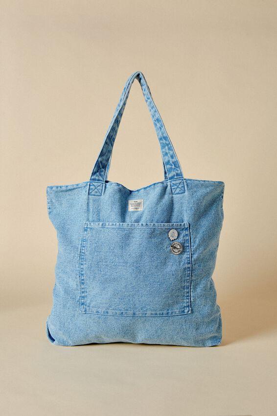 The Daily Tote Bag, DENIM