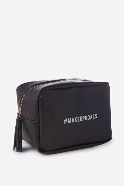 Essential Cosmetic Bag, MAKE UP GOALS