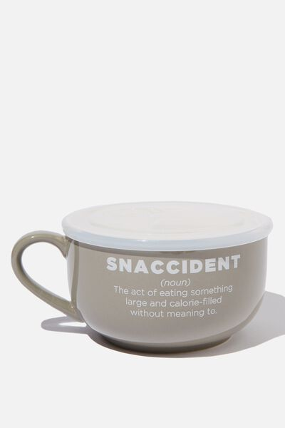 Big Mug Bowl, GREY SNACCIDENT