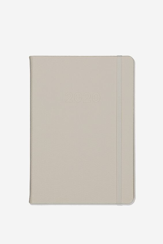2020 A5 Weekly Buffalo Diary, GREY
