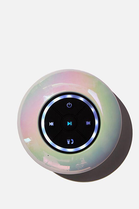 Wireless Led Shower Speaker, PEARLESCENT 2.0
