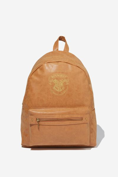 Commuter Backpack Lcn Hogwarts Crest Typo