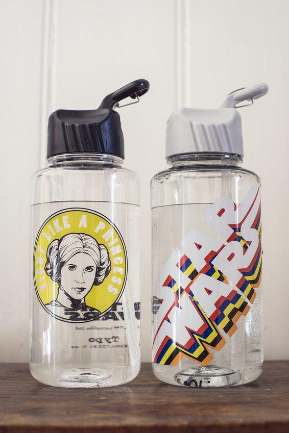 Star Wars Water Bottle, LCN STAR WARS LOGO