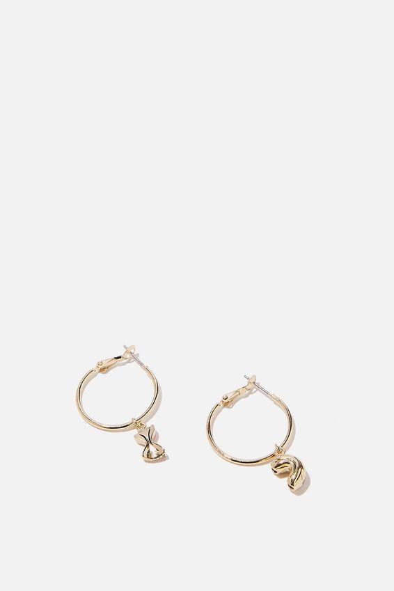 Novelty Earrings, PASTA