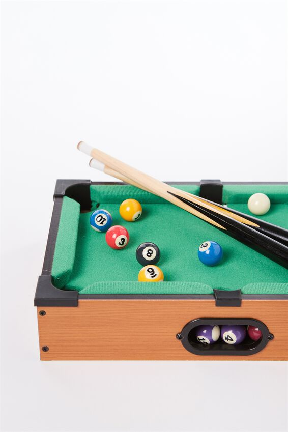 Desktop Pool Game, DESKTOP POOL