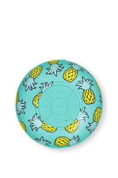 Shower Speaker, SUMMER PINEAPPLE