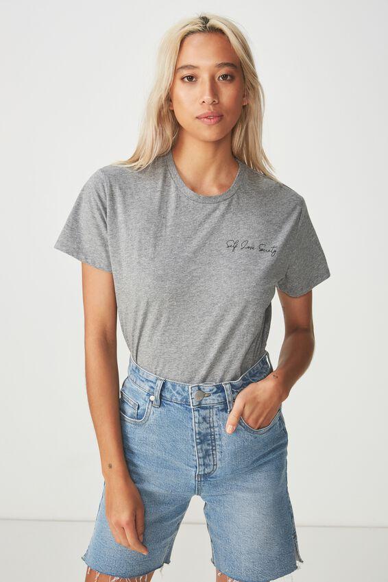 Womens Novelty Tshirt, SELF LOVE SOCIETY