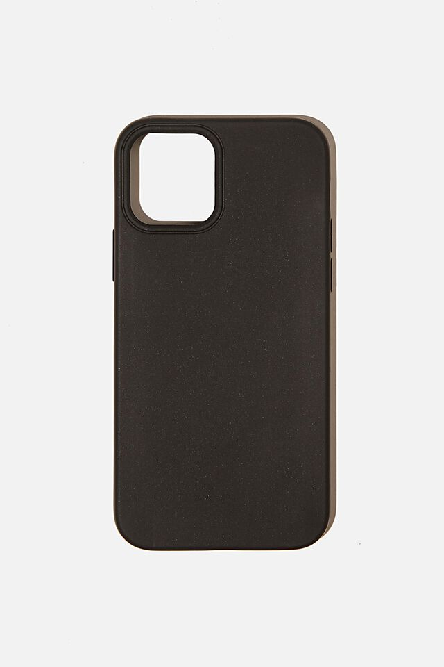 Recycled Phone Case Iphone 12, 12 Pro, BLACK