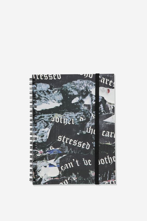 Small Spinout Notebook - V, STRESSED