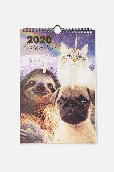2020 Get A Date Calendar, ANICORNS