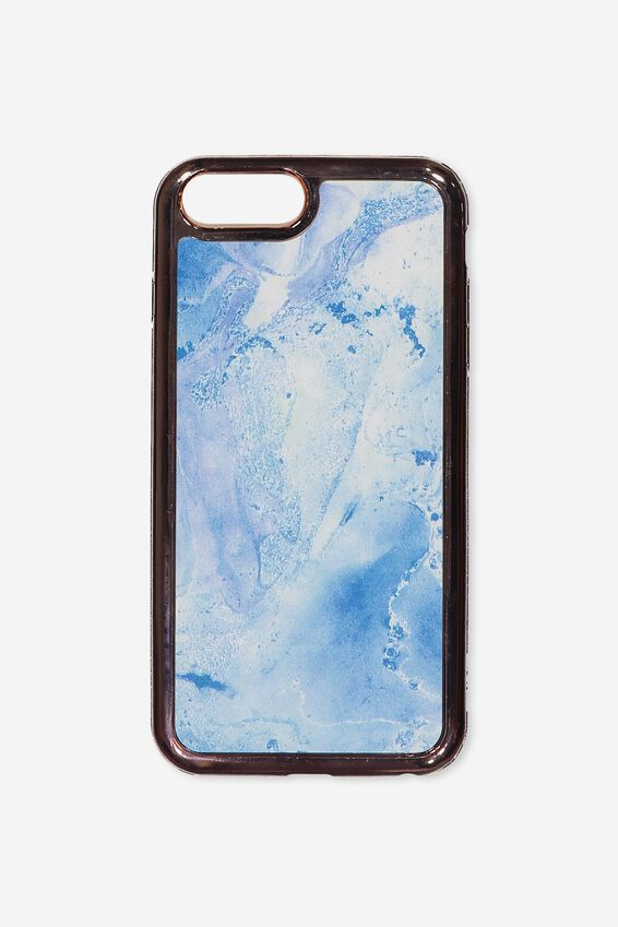 The Superior Phone Cover 6,7,8 Plus, BLUE MARBLE