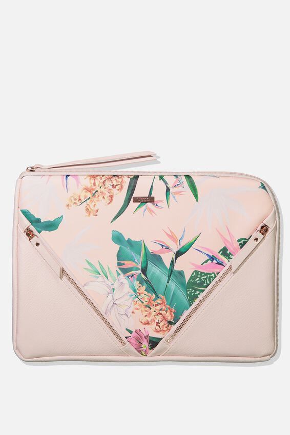"Premium Laptop Case 13"", BIRDS OF PARADISE"