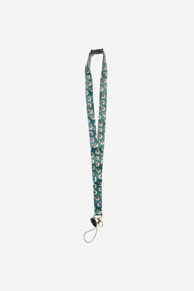 Printed Lanyard, AVOCADO YARDAGE