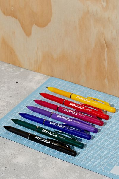 Erasable Pen 7Pk, MULTI