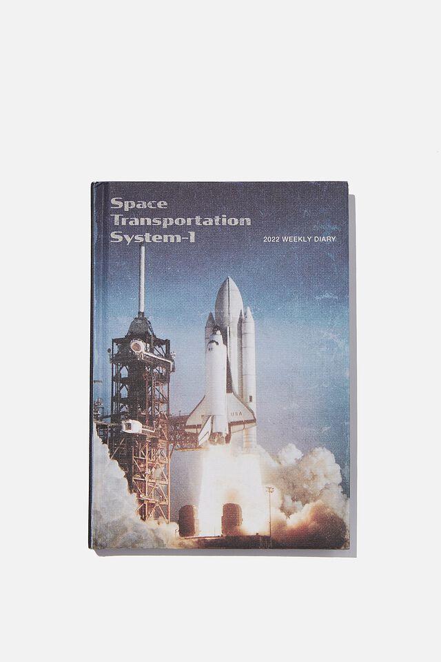 NASA 2022 Big Ticket Weekly Diary, LCN NAS NASA LAUNCH