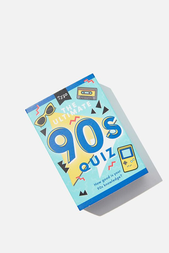 Pocket Trivia Game, 90S TRIVIA