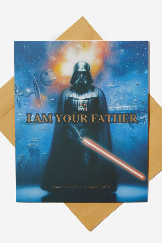 Star Wars Fathers Day Card, LCN LU FATHER