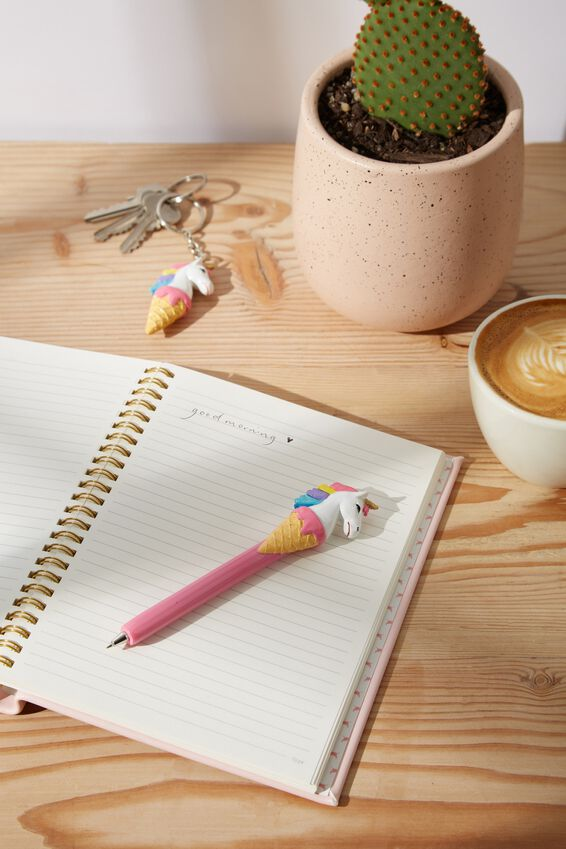 Pen And Keyring Set, UNICONE